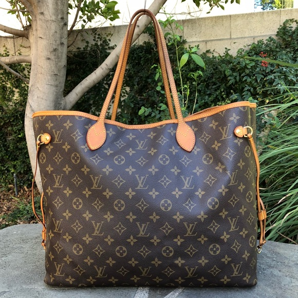 4cbdffe1e784 Louis Vuitton Handbags - 💯 Authentic Louis Vuitton Monogram Neverfull GM